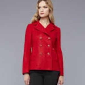 Old navy red coat size S worn once