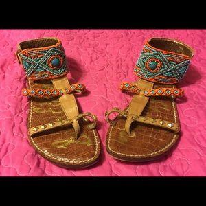 Sam Edelman beaded & studded sandals - Gorgeous!