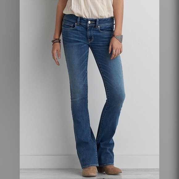 64657750e13 American Eagle Outfitters Denim - AEO KICK BOOT SUPER STRETCH JEANS 8R BLUE  Daylight