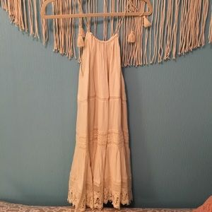 Urban Outfitters cream colored dress