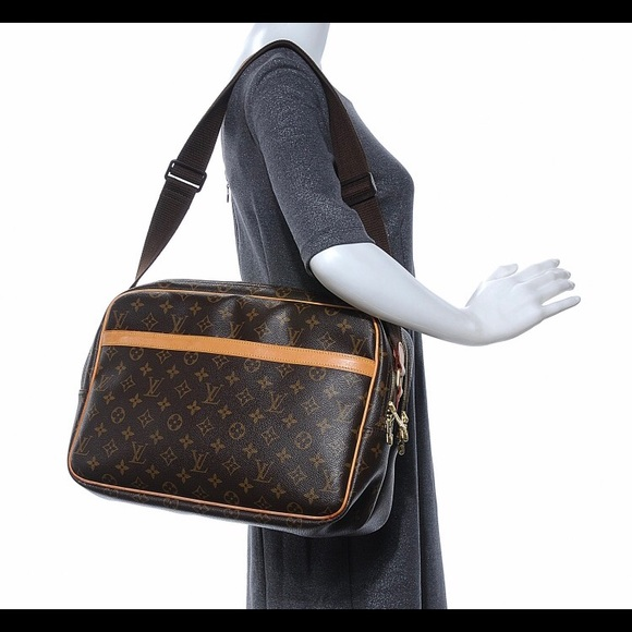 4c7f591ad300 Louis Vuitton Handbags - 🔴FIRM PRICE🔴Louis Vuitton Monogram Reporter GM