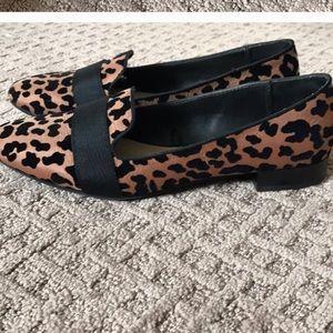 Zara Trafaluc flat loafer Leopard