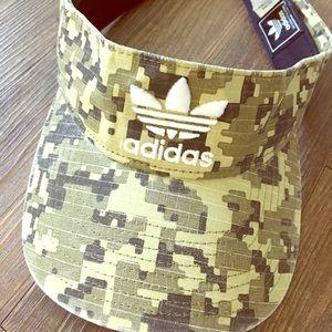 Adidas camouflage visor