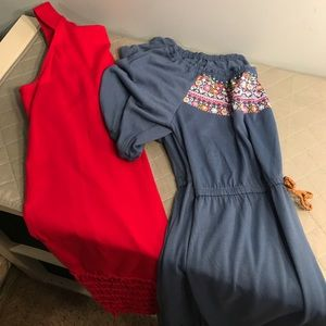 Two great dresses for 1 low price