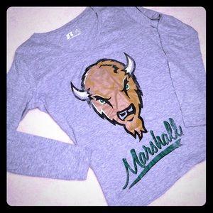 NWT Russel Marshall University Long Sleeve Top