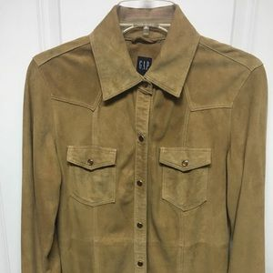 JUST REDUCED! Genuine Suede Shirt