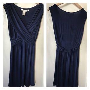 MAX STUDIO: Jersey Navy Dress