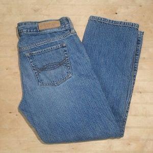 A&F Crop jeans