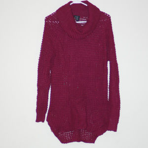 NWOT RUE 21 Burgundy X LONG sweater for leggings