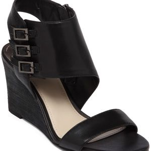 Vince Camuto Lyssia black wedge