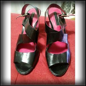 Black high heel shoes, Bandolino, size 9