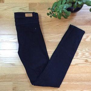Zara Trafaluc Skinny Jeans Navy Blue Size 4