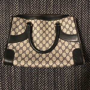 Vintage Authentic Gucci Tote