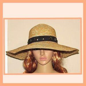 Magid Accessories wide Brim 100% Wheat Straw Hat
