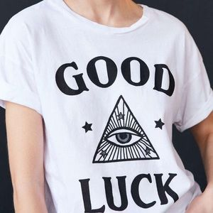 ☘️Truly Madly Deeply Good Luck Tee