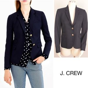 Schoolboy Blazer Navy Gold Buttons Preppy Wool 438