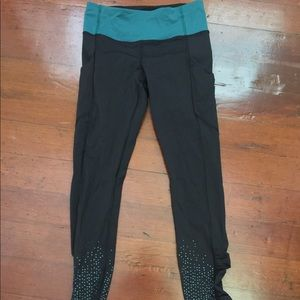 Lululemon new size 4 full legging reflective