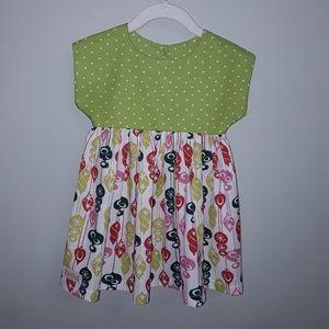 Pixie Dust Design Izzy top Christmas dress sz. 2