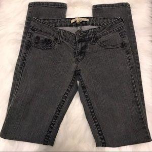 Black - gray skinny jeans size 25 -- F21