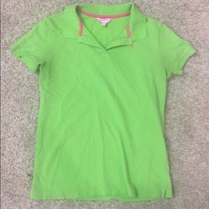 Lilly Pulitzer green polo large