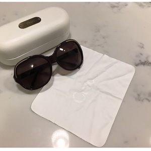 Chloe Chain Inlay Sunglasses
