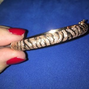 Jewelry - 14k rose gold bangle MADE IN ITALY