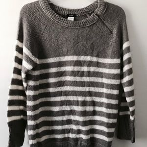 J. Crew Sweater with Zipper Neck Detail