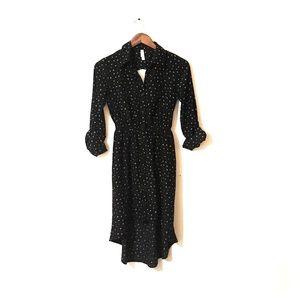 Long sleeve Button up Dress