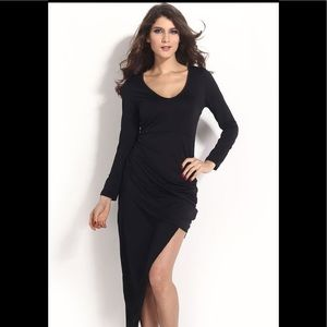 Dresses & Skirts - Asymmetrical black dress