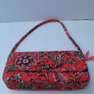 Vera Bradley Knot Just A Clutch Call Me Coral NWT