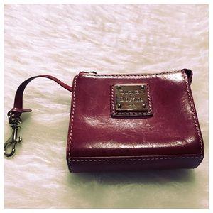 Dooney & Bourke red coin purse