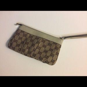 Gucci Authentic Wristlet
