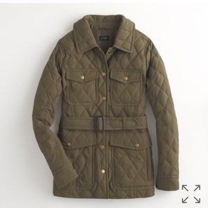 J. Crew Factory lightweight quilted jacket.
