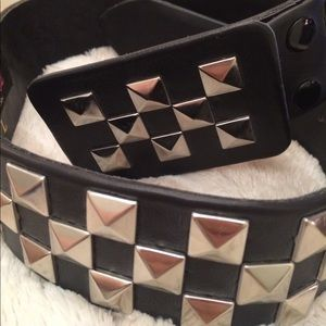 Black Studded Patricia Field Belt-Sex and the City