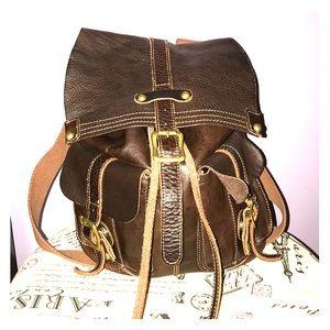 {Bed Stu} Leather Backpack