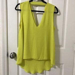 BCBG MaxAzria Sleeveless Dress Shirt Size M