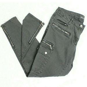 Michael Kors Gray Cargo Skinny Pants