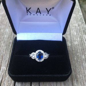 New Sapphire ring from Kay Jewelers