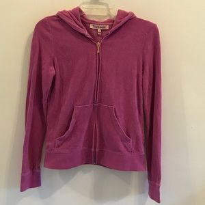 Juicy Couture Hooded Zip-Up Jacket