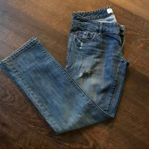 Abercrombie and Fitch jeans!