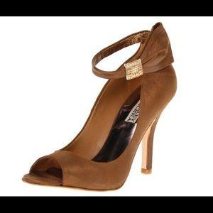 Bronze / Copper Badgley Mischka Heels