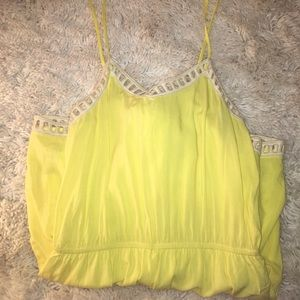 Yellow boutique romper