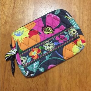 Vera Bradley Small Cosmetic Bag Jazzy Blooms