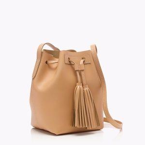 J. Crew Bucket Bag Leather