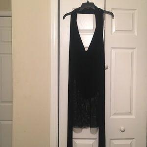 Black Mesh Dress/SwimSuit