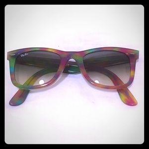 Ray-Ban Wayfarer Tie-Dye Sunglasses