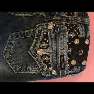 Miss Me Girls size 12 Capris Used