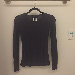 ❤️ BCBG Max Azria Long Sleeved Gray Shirt