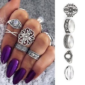 Boho Knuckle Rings