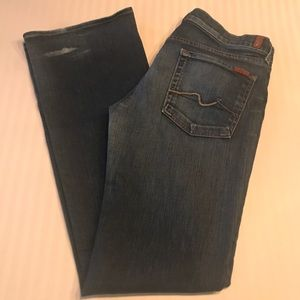 7 For All Mankind Boot Cut Jeans. Size 31 Long